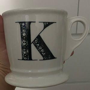 Letter K Cup